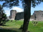 Rothesay castle on Bute