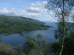 Loch Riddon and the Kyles of Bute from Tighnabruaich Viewpoint
