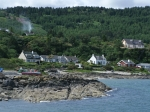 Village along the coast of Kintyre