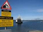 The ferry from Tarbert to Portavadie