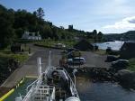 The harbor of Tarbert on Kintyre, Scotland