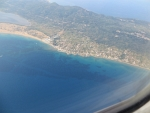 Corfu from the air, Greece