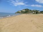 The beach of Vitalades, Greece