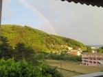 Rainbow in Vitalades, Greece