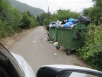 The garbage men are on strike, Greece