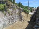 Remains of a Roman bathhouse, Greece