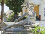 Achilles in the Achilleion, Greece