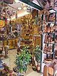 Souvenir shop in Kerkyra, Greece