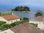 Mouse island near Corfu town, Greece