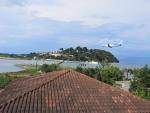 Again spotting airplanes in Corfu, Greece