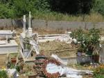 A cemetery at Kritika, Greece
