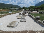 Excavations in Dodoni, Greece