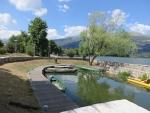 The Katsan park in Ioannina, Greece