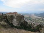 The St. Stefanos monastery, Meteora, Greece