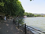 Boulevard along the lake of Ioannina