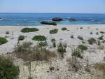 The sea at Lygia, Greece