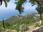 Coast of Lefkada seen from Kalamitsa
