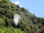 At the Nidri waterfalls, Greece