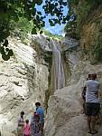 The big Nidri waterfall, Greece