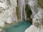 The big Nidri waterfall, Greece