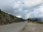 Dark clouds on Lefkada, Greece