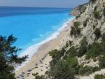 The Egremni beach, Lefkada, Greece