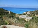 The coast at Porto Katsiki, Lefkada, Greece