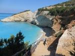 The beach of Porto Katsiki, Greece