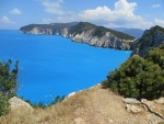 The peninsula at cape Doukato, Greece