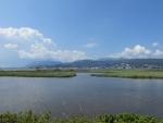 Lagoon in the north of Lefkada, Greece