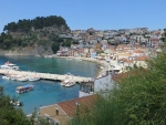 The bay of Parga, Greece