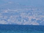 We see Sarandë in Albania, Greece