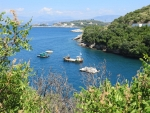 Bay in the north of Corfu