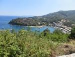 The port of Agios Stefanos, Greece