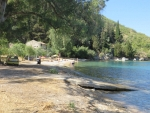 The Kouloura beach, Corfu, Greece