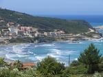 Agios Stefanos on the west coast of Corfu, Greece