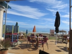 Breakfast by the sea, Roda, Greece
