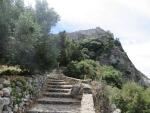 Climb to Angelokastro, Greece
