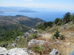View from the Pantakrator, Corfu