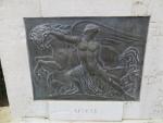 Symbol for Lefkada, Kerkyra, Greece