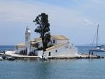 The Vlacherna monastery near Kanoni, Greece