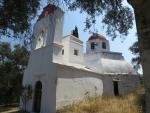 The Nymphes Estavromenos church, Greece