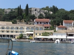 Kassiopi, view of the castle