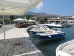The port of Kassiopi