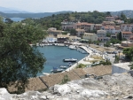 Kassiopi from the castle