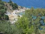 The Kanoni beach, Greece