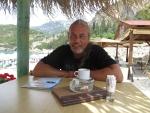 At the Liapades beach, Gefyra, Greece
