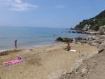On the Mirtiotissa beach, Greece