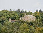 Cawdor castle from afar, Scotland