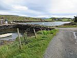 The port of Croig in the north of Mull